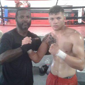 steve forbes doing boxing training