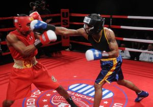 boxing sparring